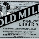Old Mill Pale Dry Ginger Ale - Art Print