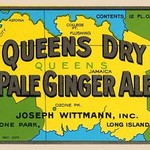 Queens Dry Pale Ginger Ale - Art Print