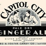 Capitol City Pale Dry Ginger Ale - Art Print
