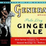 General Brand Pale Dry Ginger Ale - Art Print