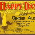 Happy Day Golden Ginger Ale - Art Print