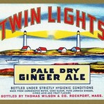 Twin Lights Pale Dry Ginger Ale #2 - Art Print