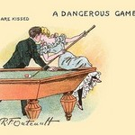 A Dangerous Game by R.F. Outcault - Art Print