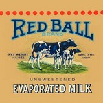 Red Ball Brand Unsweetened Evaporated Milk #2 - Art Print