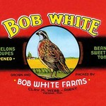 Bob White Farms Label - Art Print