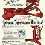 Ausco Hydraulic Transmission Handler - Art Print