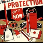 Air Raid Protection by Johnson Zebedee - Art Print