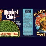 Maryland Chief Extra Sifted Early Peas - Art Print