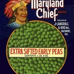 Maryland Chief Extra Sifted Early Peas #2 - Art Print