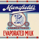 Mansfield's Unsweetened Evaporated Milk #2 - Art Print