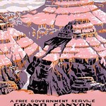 Grand Canyon National Park, a free government service by National Park Service - Art Print