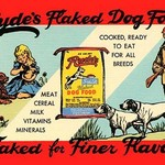 Ryde's Flaked Dry Food by Curt Teich - Art Print