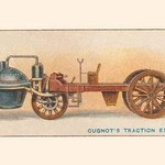 Cugnot's Traction Engine - Art Print