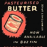 Staffad's Pasteurised Butter - Art Print