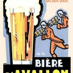 Biere D'Avallon - Art Print