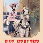 Eat Healthy by WP - Art Print