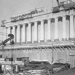 Lincoln Memorial Undergoes Construction - Art Print