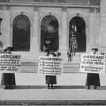 American Women Protest Opium Trade - Art Print