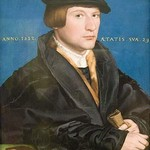 A Hanseatic Merchant by Hans Holbein the Younger - Art Print