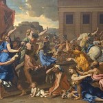 Abduction of the Sabine Women by Nicolas Poussin - Art Print