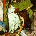 A Roman Emperor AD 41 by Sir Lawrence Alma-Tadema - Art Print