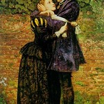 A Huguenot on St. Bartholomew's Day by John Everett Millais - Art Print