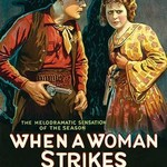 When a Woman Strikes - Art Print