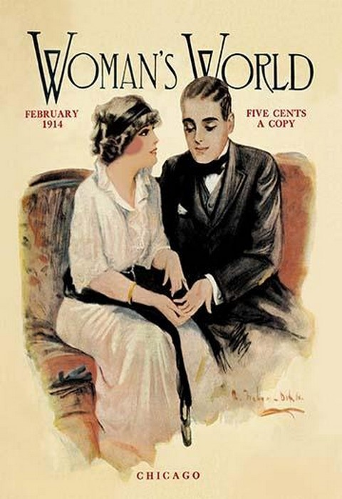 Woman's World, February 1914 - Art Print