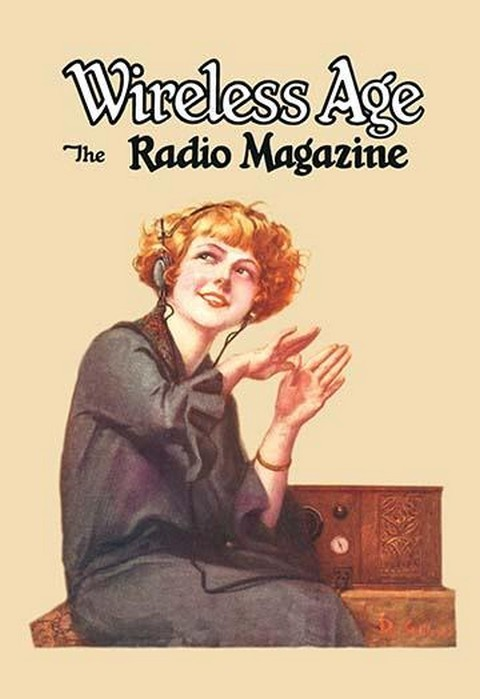 Wireless Age: The Radio Magazine by D. Gross - Art Print
