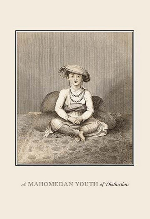 A Mahomedan Youth of Distinction by Baron de Montalemert - Art Print