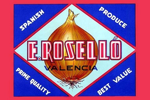 Valencia Onions by by Evarist Mora Rosello - Art Print