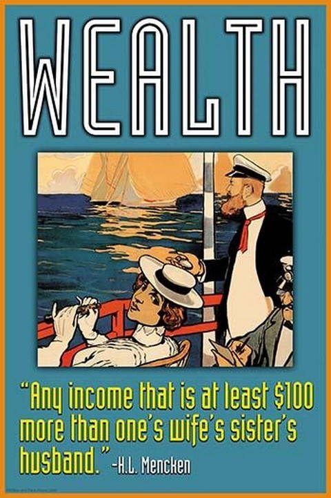 Wealth by Wilbur Pierce - Art Print