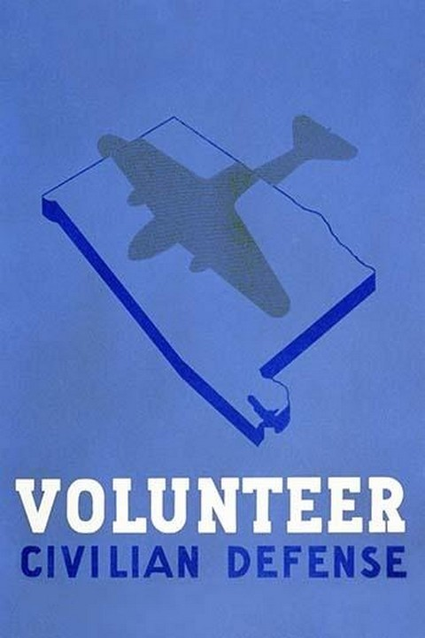 Volunteer Civilian Defense by Welch - Art Print