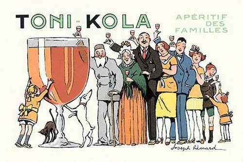 Toni-Kola by Joseph Remard - Art Print