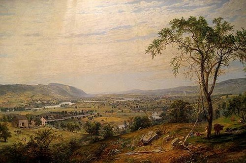 Valley of Wyoming by Jasper Francis Cropsey - Art Print