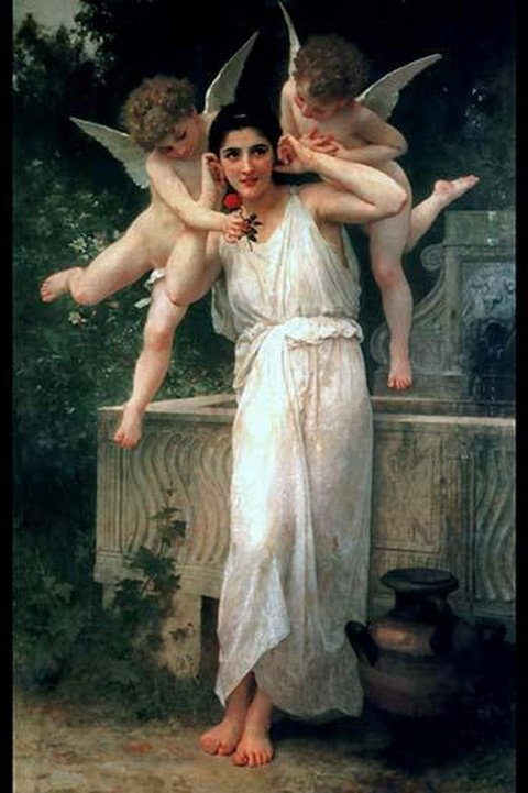 Youth by William Bouguereau - Art Print