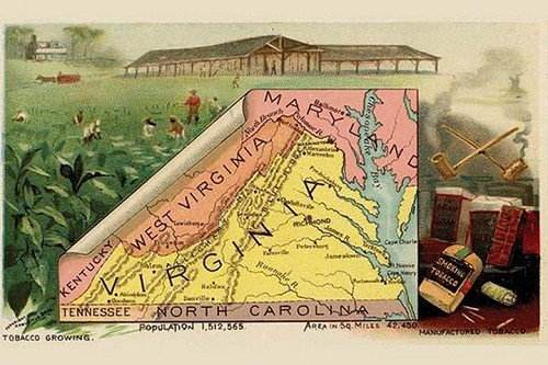 Virginia by Arbuckle Brothers - Art Print